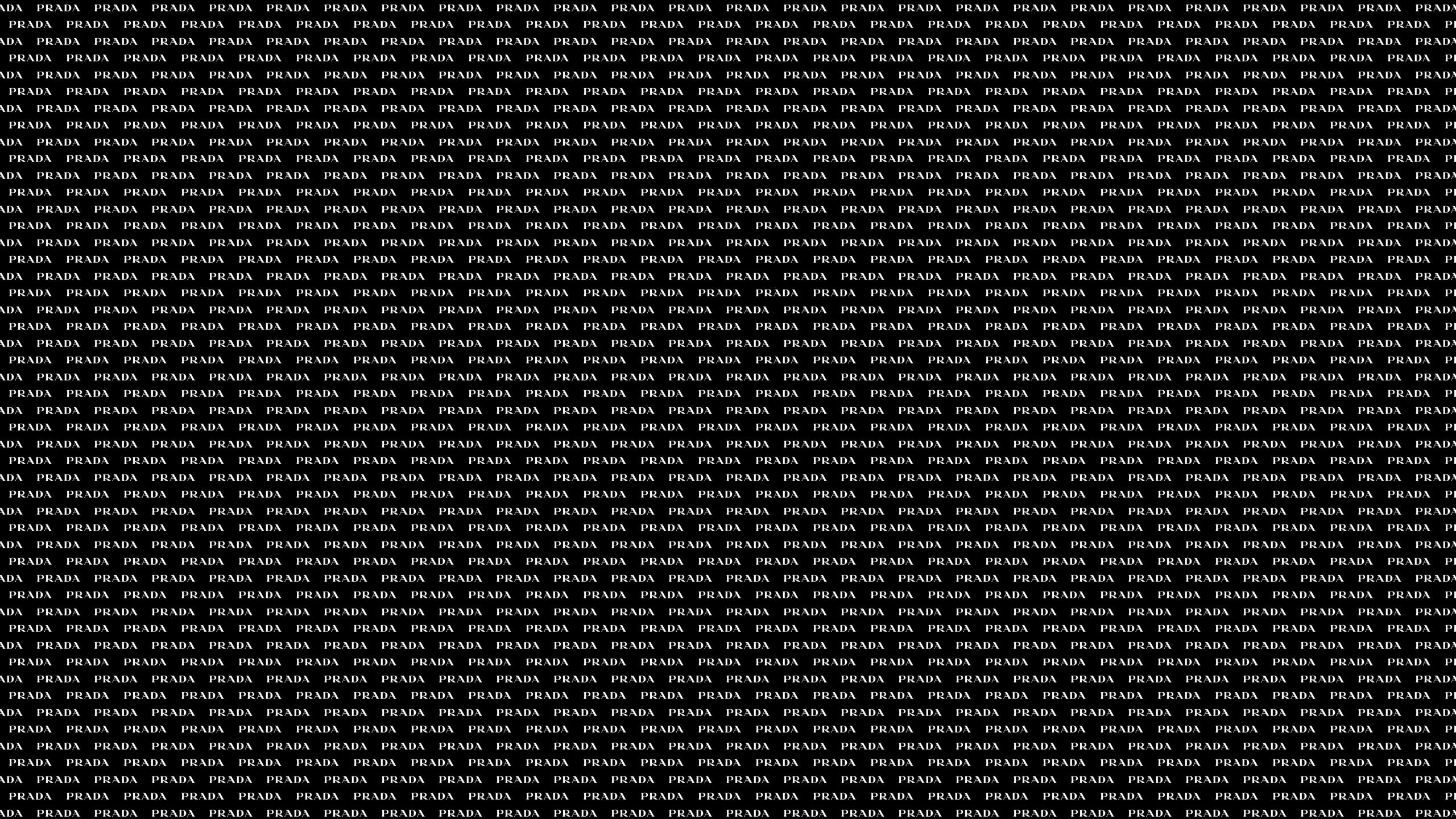 Texture of brand name Prada wallpapers and images   wallpapers 2560x1440