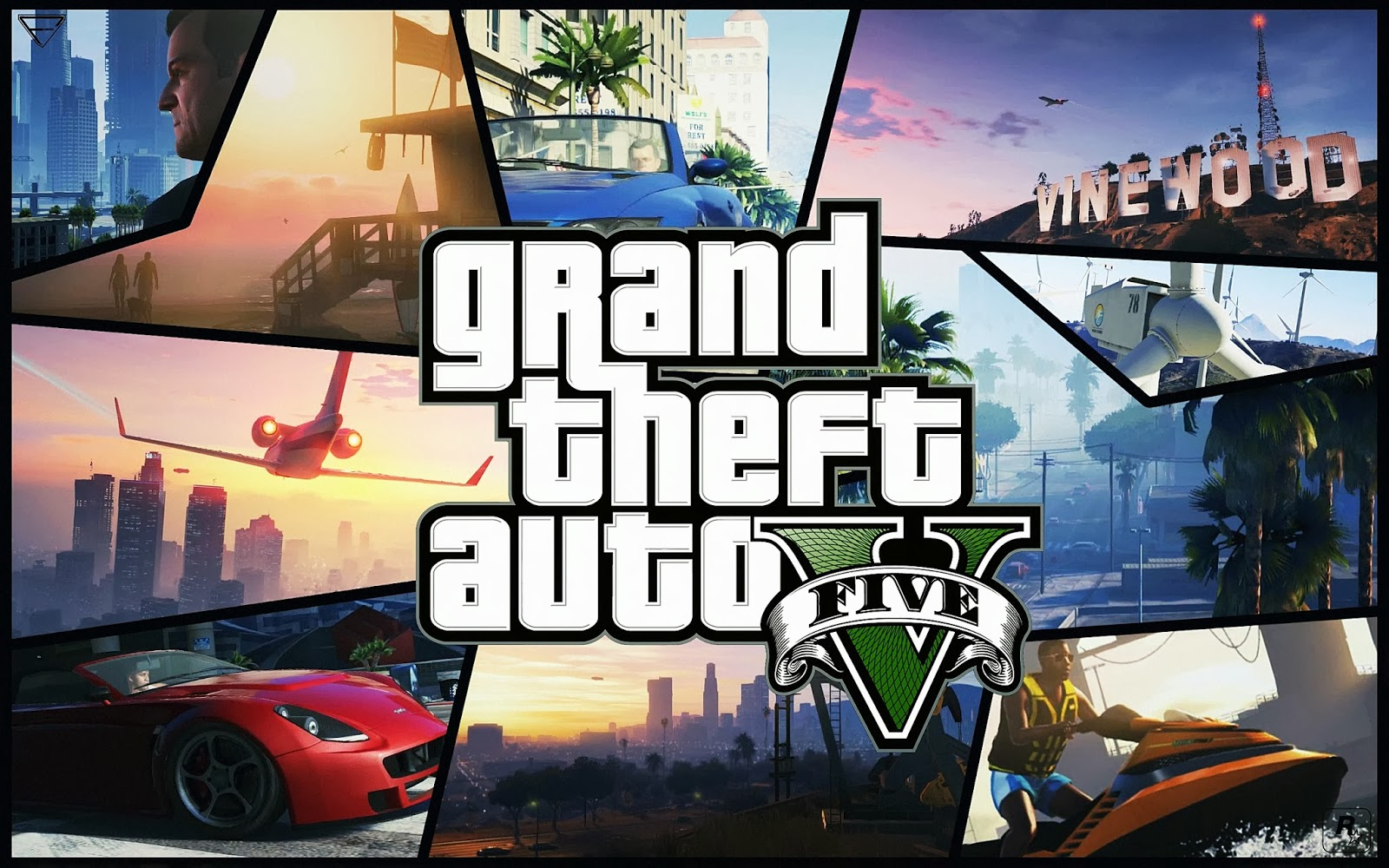 GTA V HD Wallpapers top game grand theft auto five images 1600x1000
