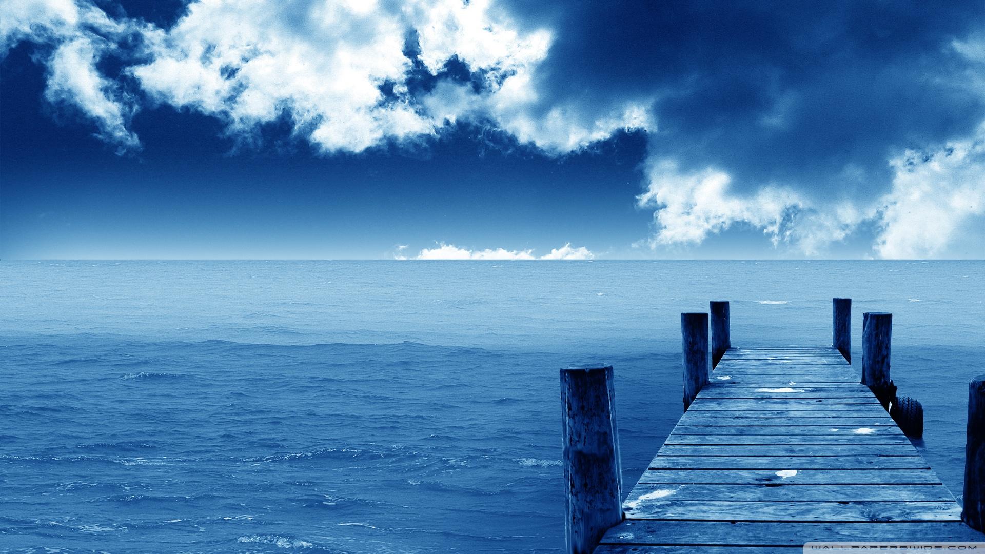 Free download Blue Nature Beach Wallpaper HD wallpapers Blue
