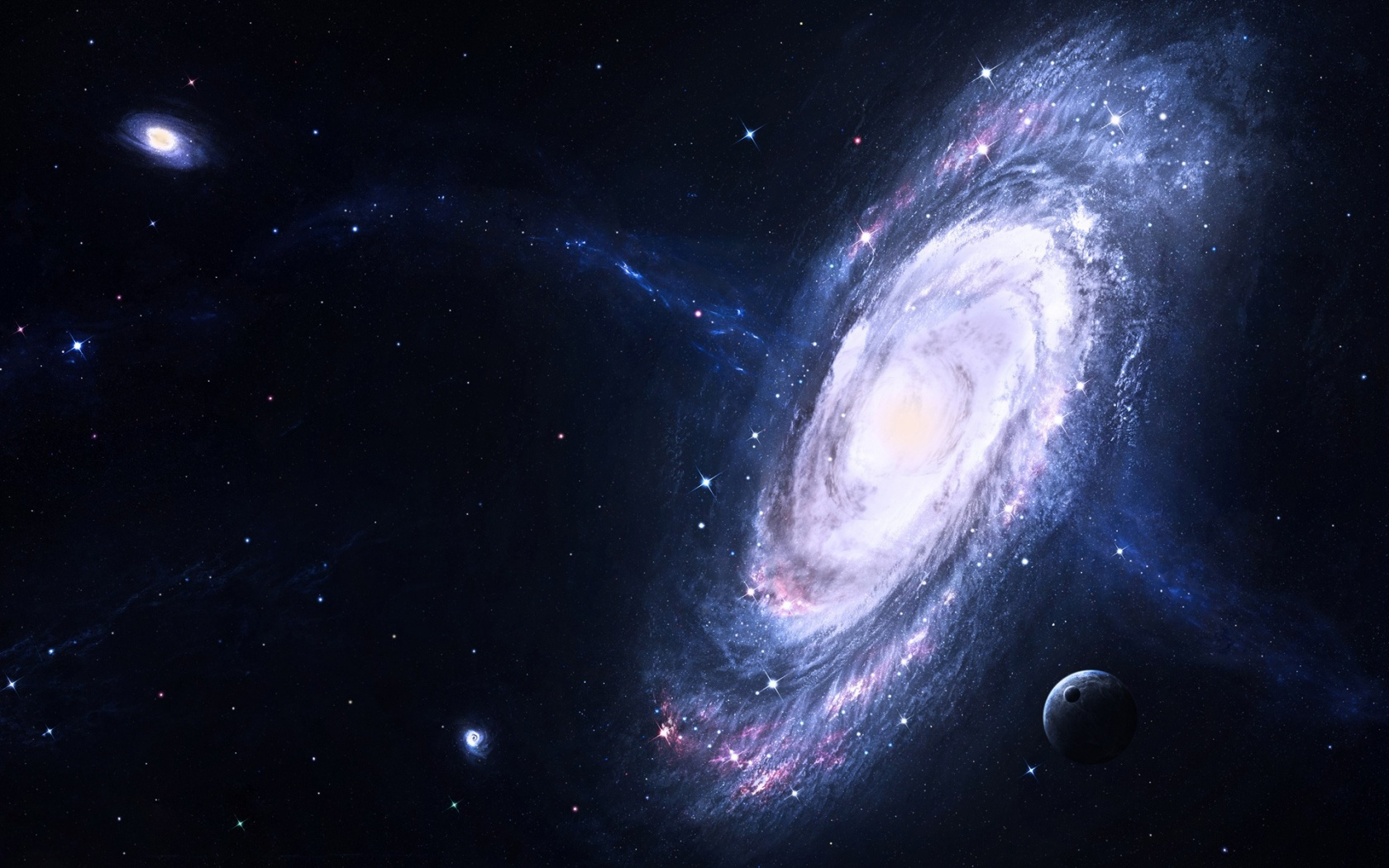 Galaxy Wallpapers 1680x1050