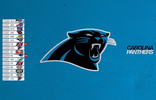 Carolina Panthers 2013 Desktop Schedule Wallpaper Flickr   Photo 500x321