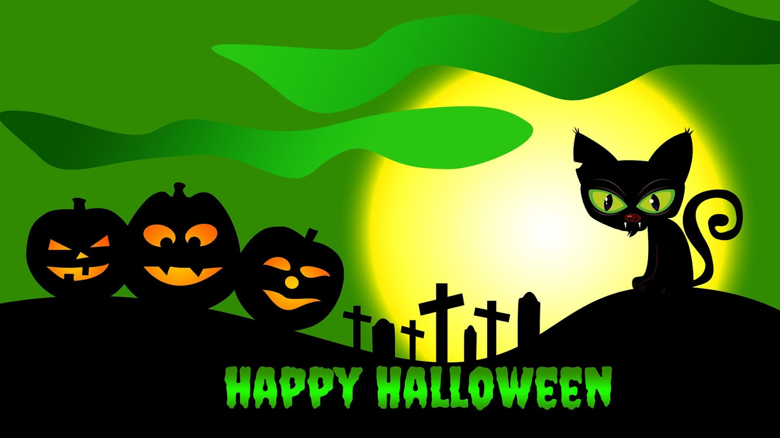 HD Wallpapers of Happy Halloween Day   Halloween Day HD 1600x900