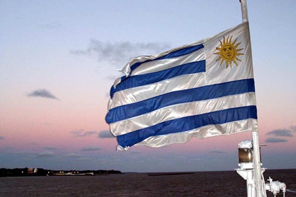 Graafix Flag of Uruguay 1000x666