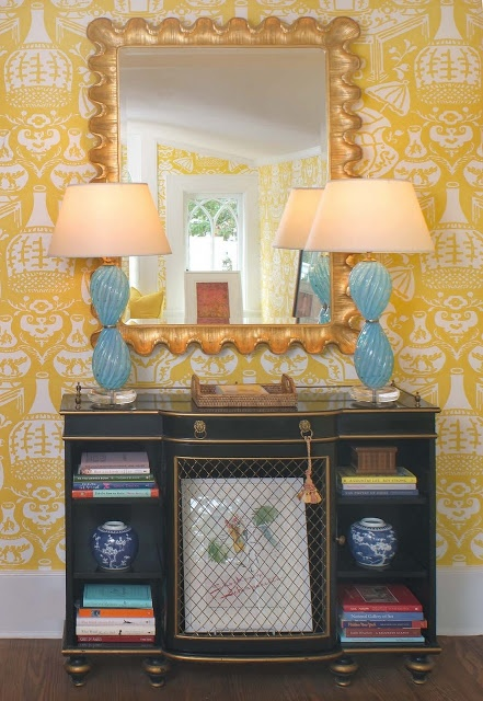 Clarence House wallpaper Display Pinterest 441x640