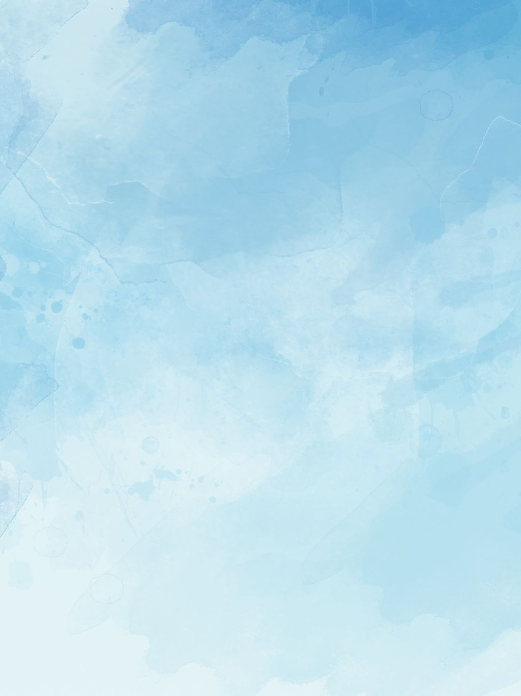 Ink Blue Sky White Clouds Hand Drawn Background Format in 2020 1024x1369