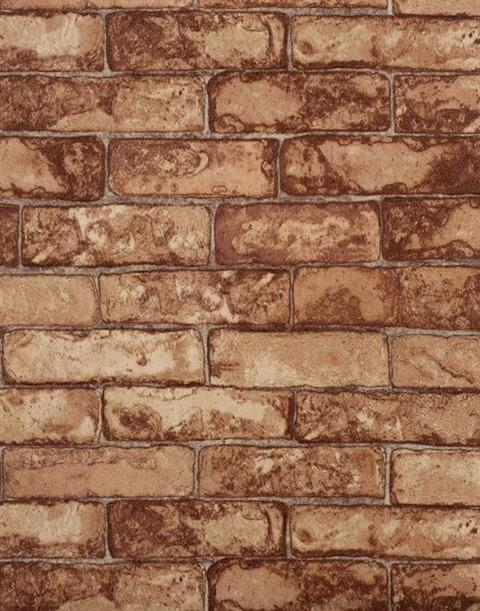 faux brick wallpaper textured red 2016   White Brick Wallpaper 480x611