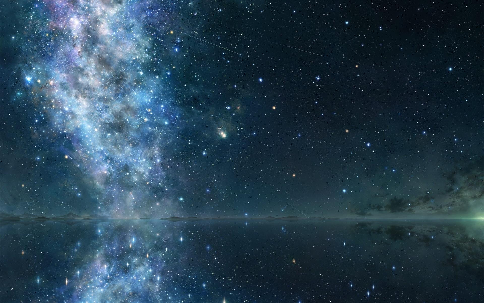 Wallpaper Stars Sky Night - WallpaperSafari
