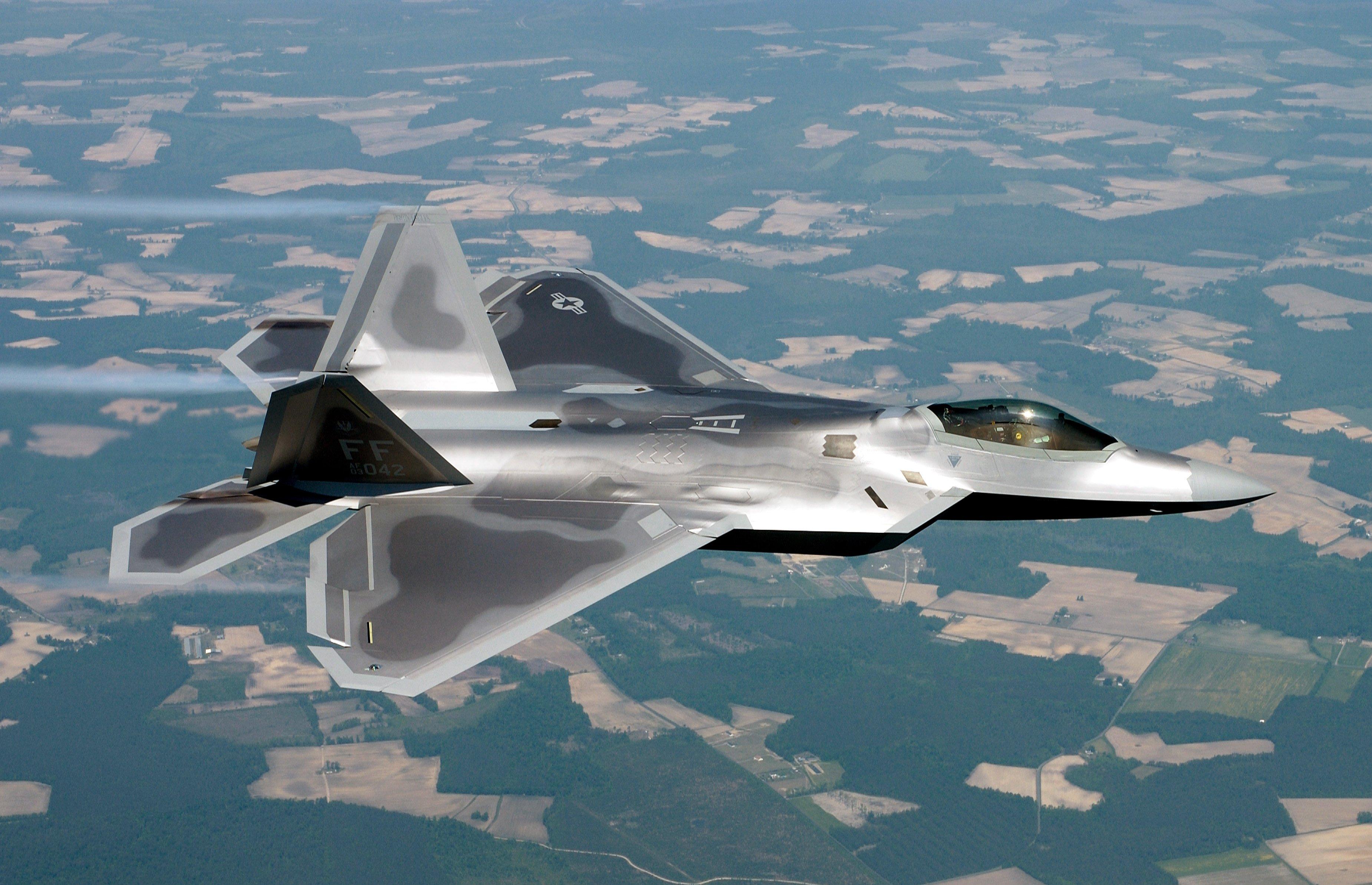 22 raptor aircraft military planes vehicles wallpaper HQ WALLPAPER 3699x2388