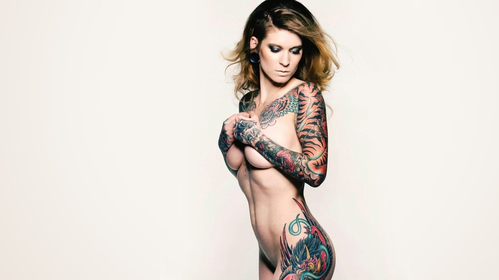Free Download Hot Tattoo Models Wallpapers Girls High Definition