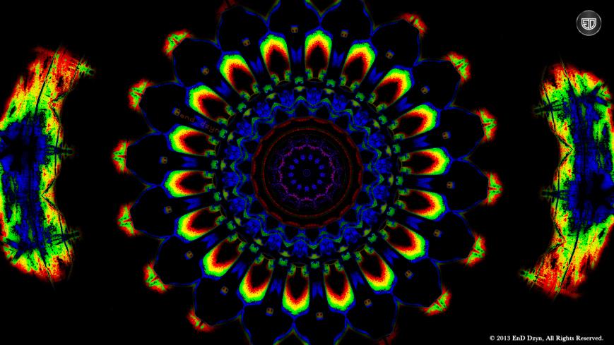 3D Psychedelic Trippy HD Desktop Wallpapers by End Dzyn 869x489