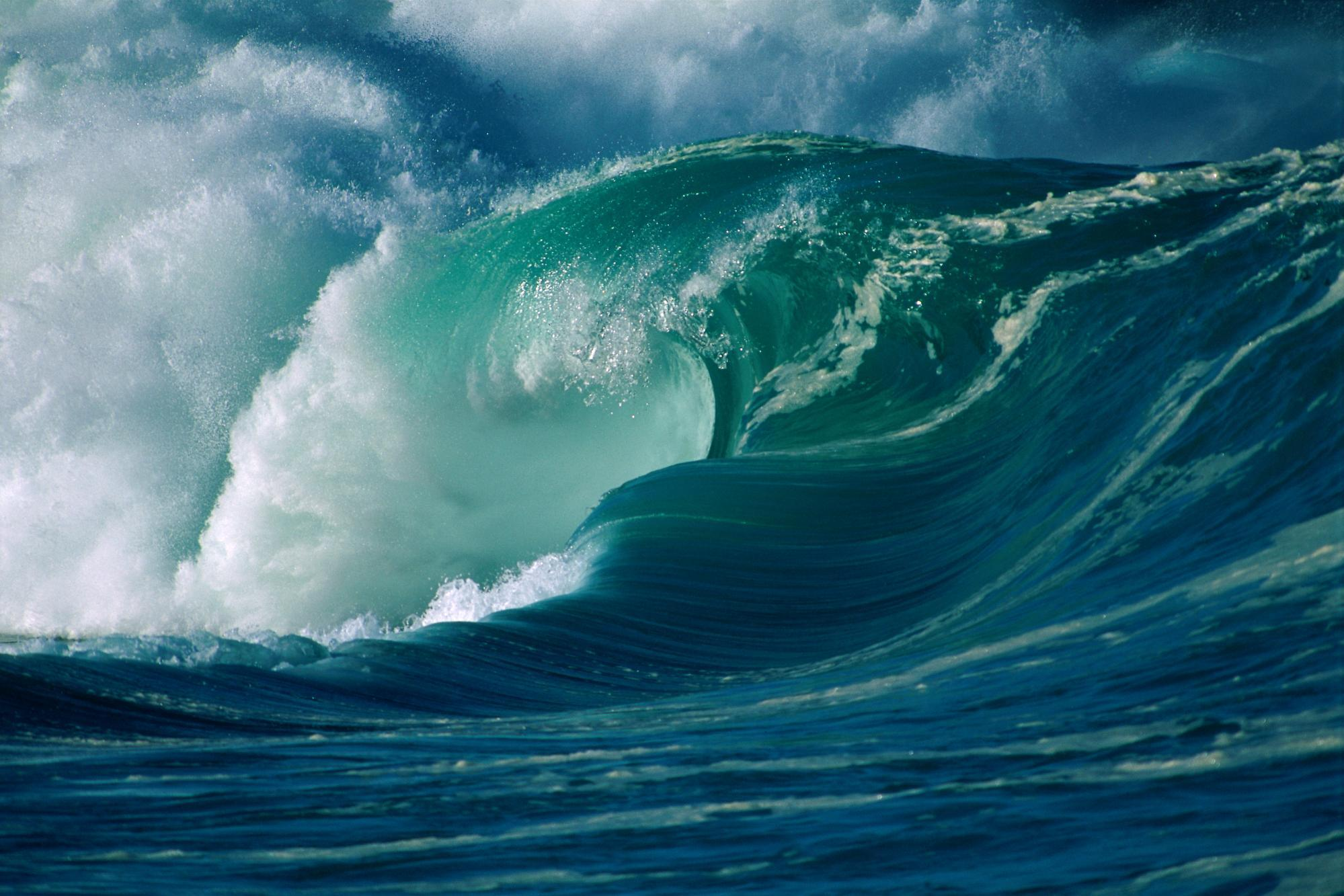 Animated Ocean Waves Wallpaper Wallpapersafari