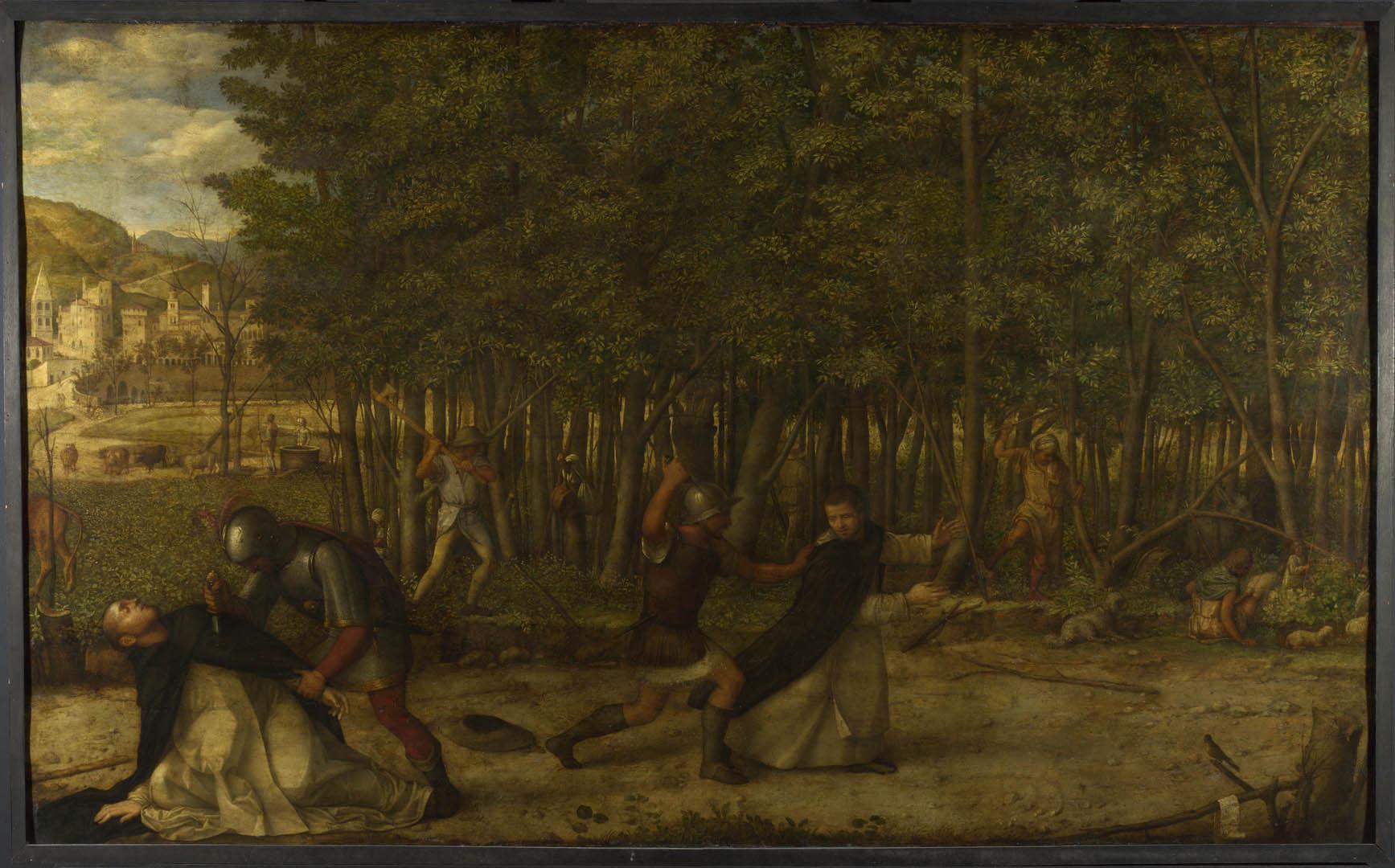 Martyr   A italian renaissance giovanni bellini art wallpaper picture 1735x1080