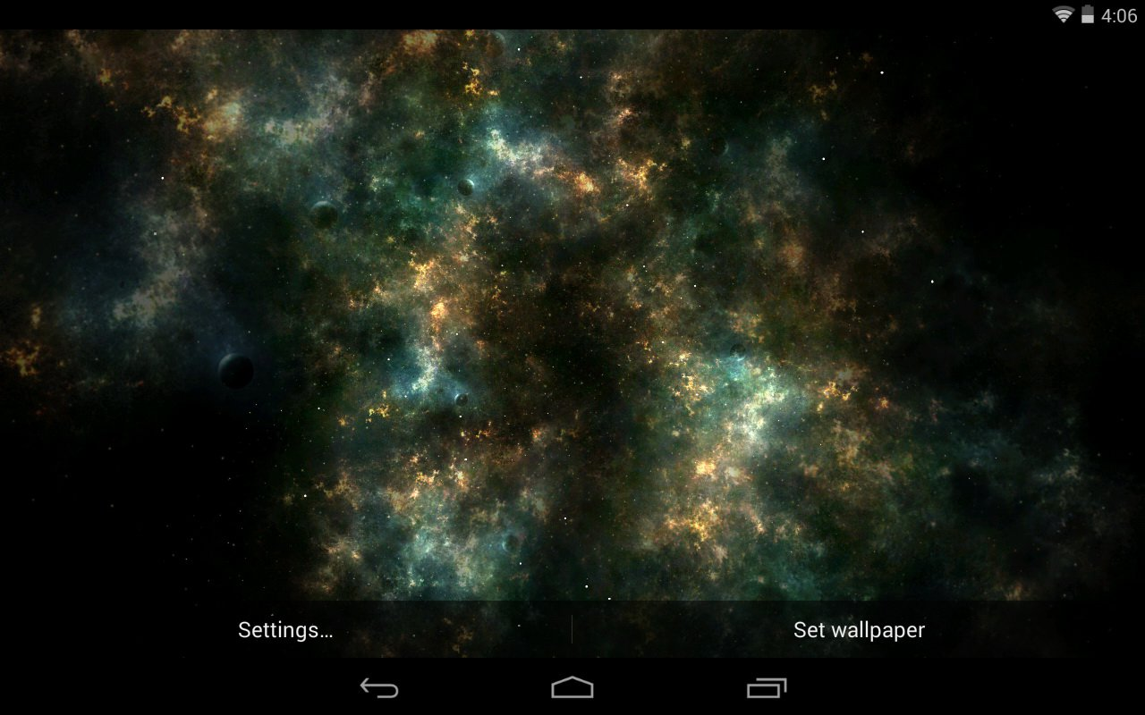 Galaxy Space Live Wallpapers Hd By Narendra Doriya