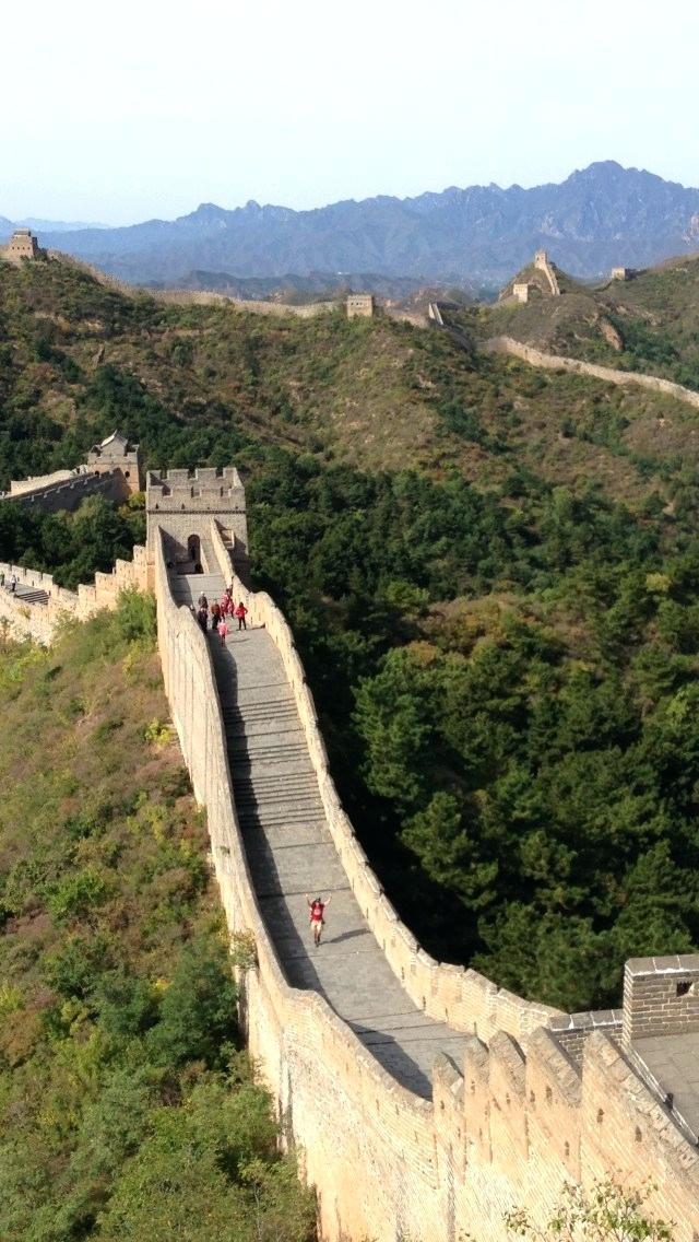 great wall of china wallpaper eliteacademyinfo 640x1136