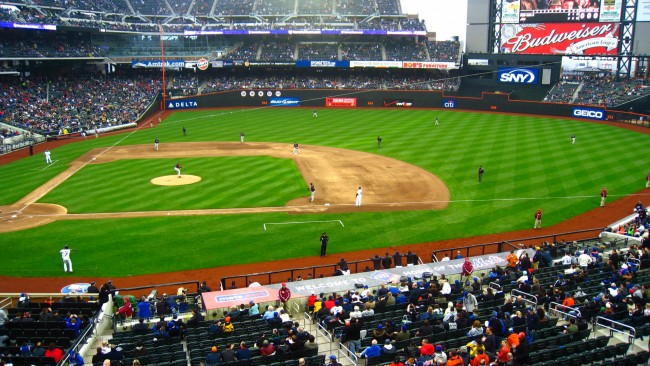 New York Mets Browser Themes Desktop Wallpapers 650x366