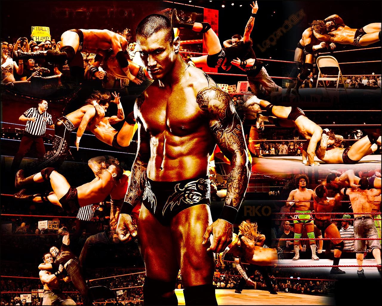 WWE Randy Orton Wallpapers 2015 1280x1024