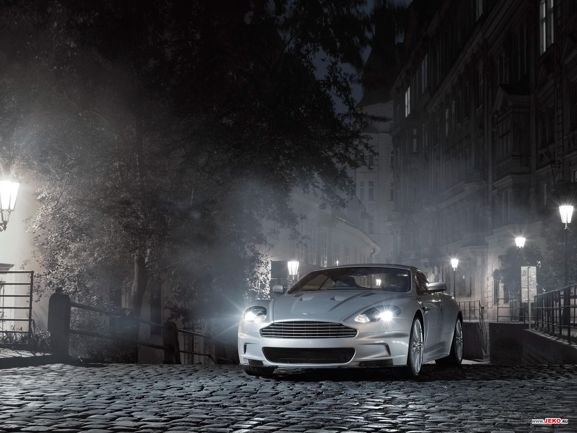 Silver Aston Martin DBS Front View desktop wallpaper WallpaperPixel 1920x1440