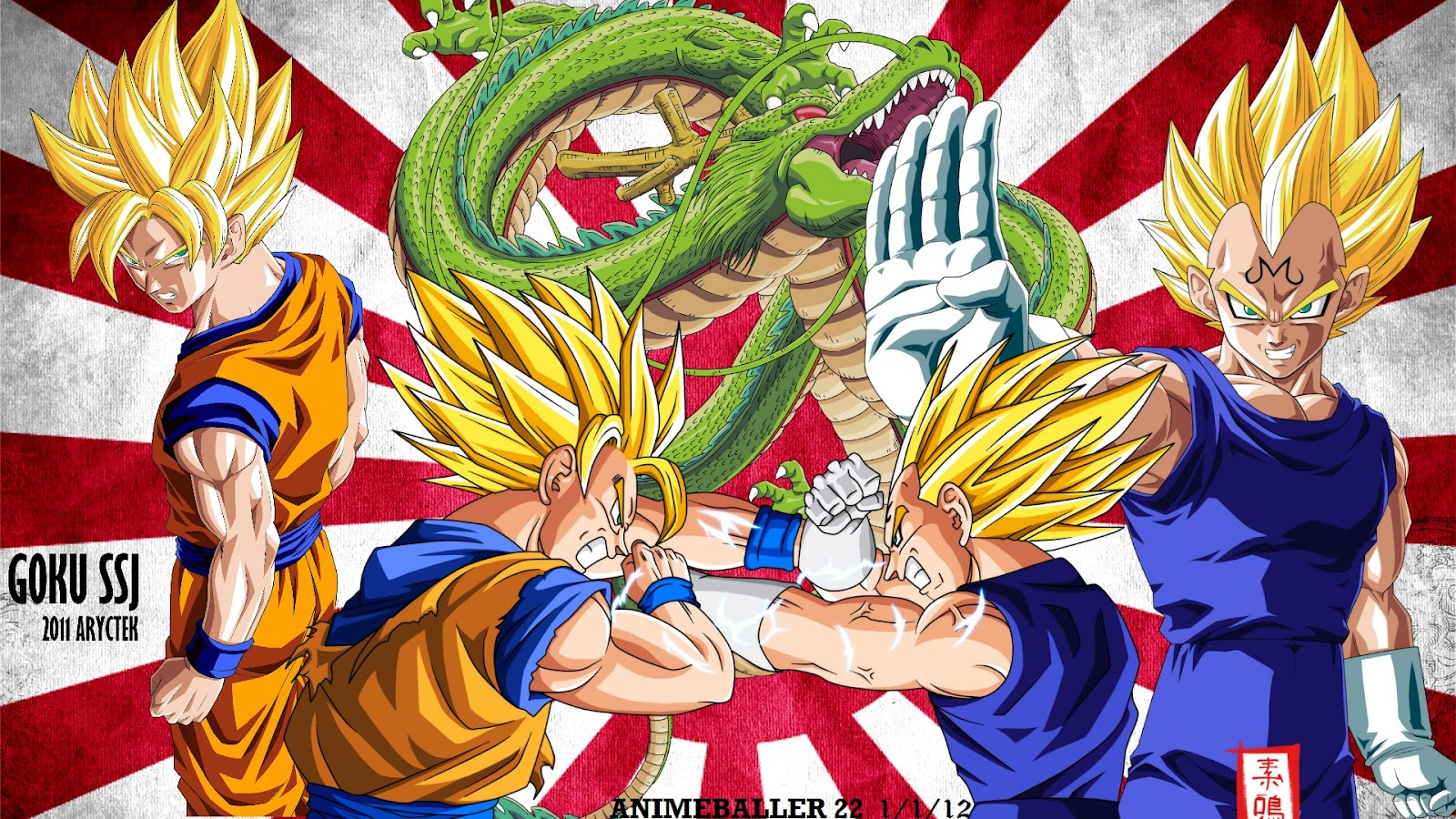 Dragon Ball Gt Z Full HD Wallpapers WALLPAPERS  animevideojuegos 1600x900
