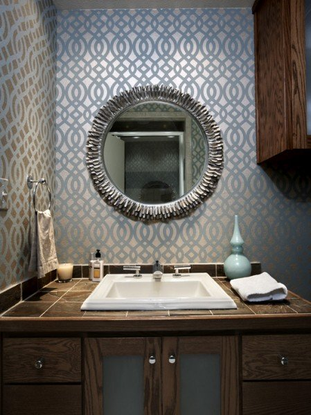 Bathroom Wallpaper Beautiful Homes Design 449x600