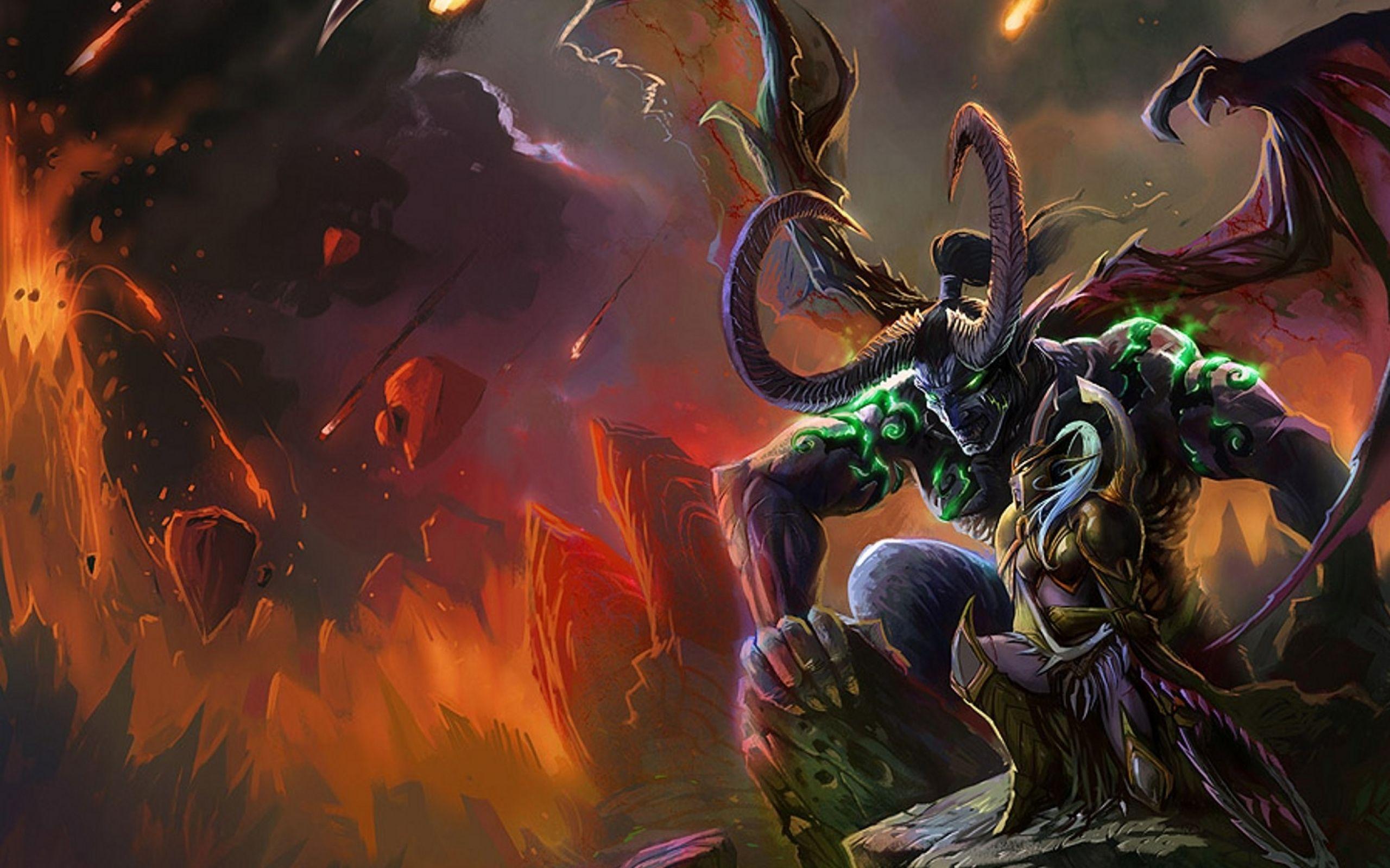 Free Download World Of Warcraft Illidan Stormrage Warcraft Iii