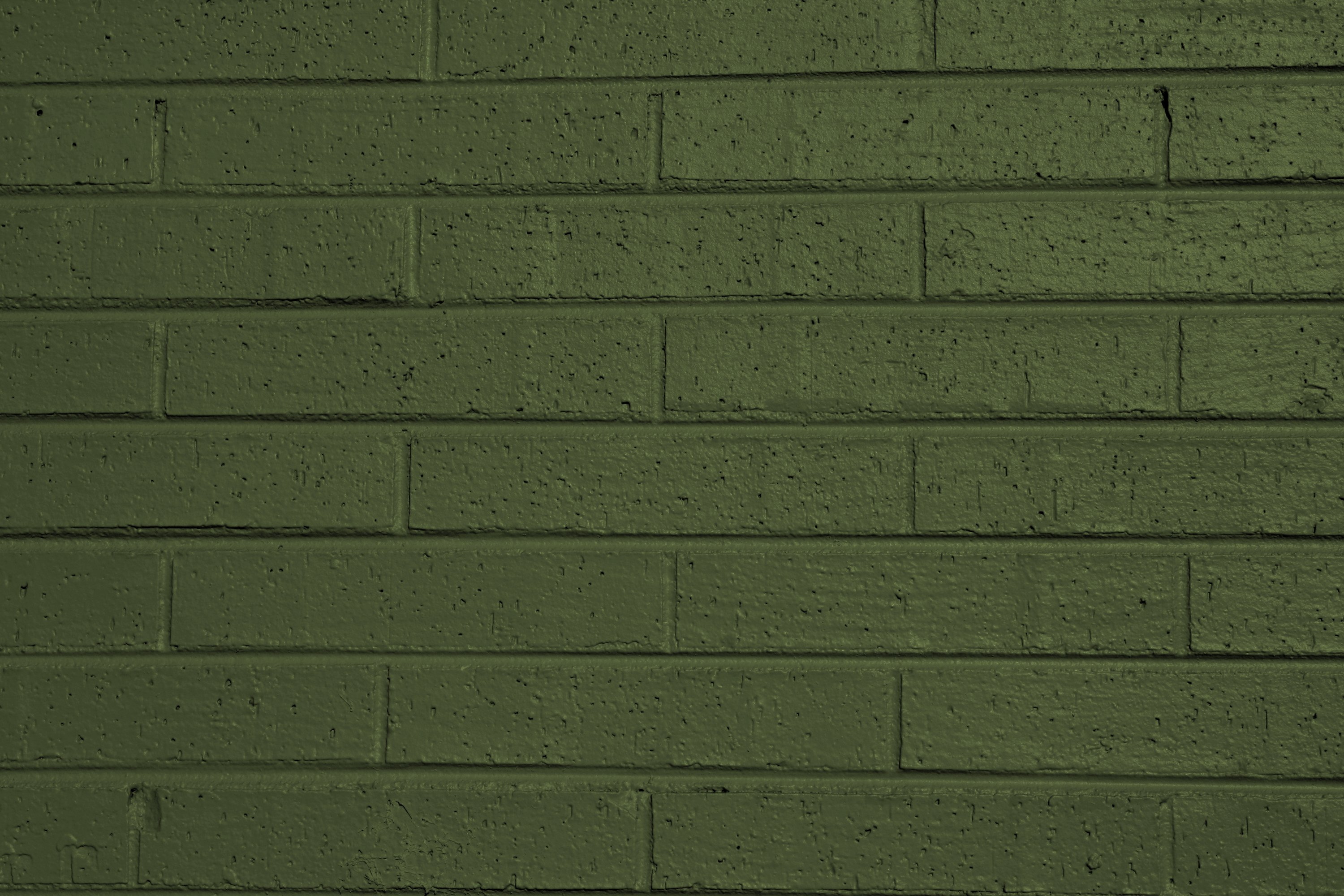 Olive Green Painted Brick Wall Texture Picture 3000x2000