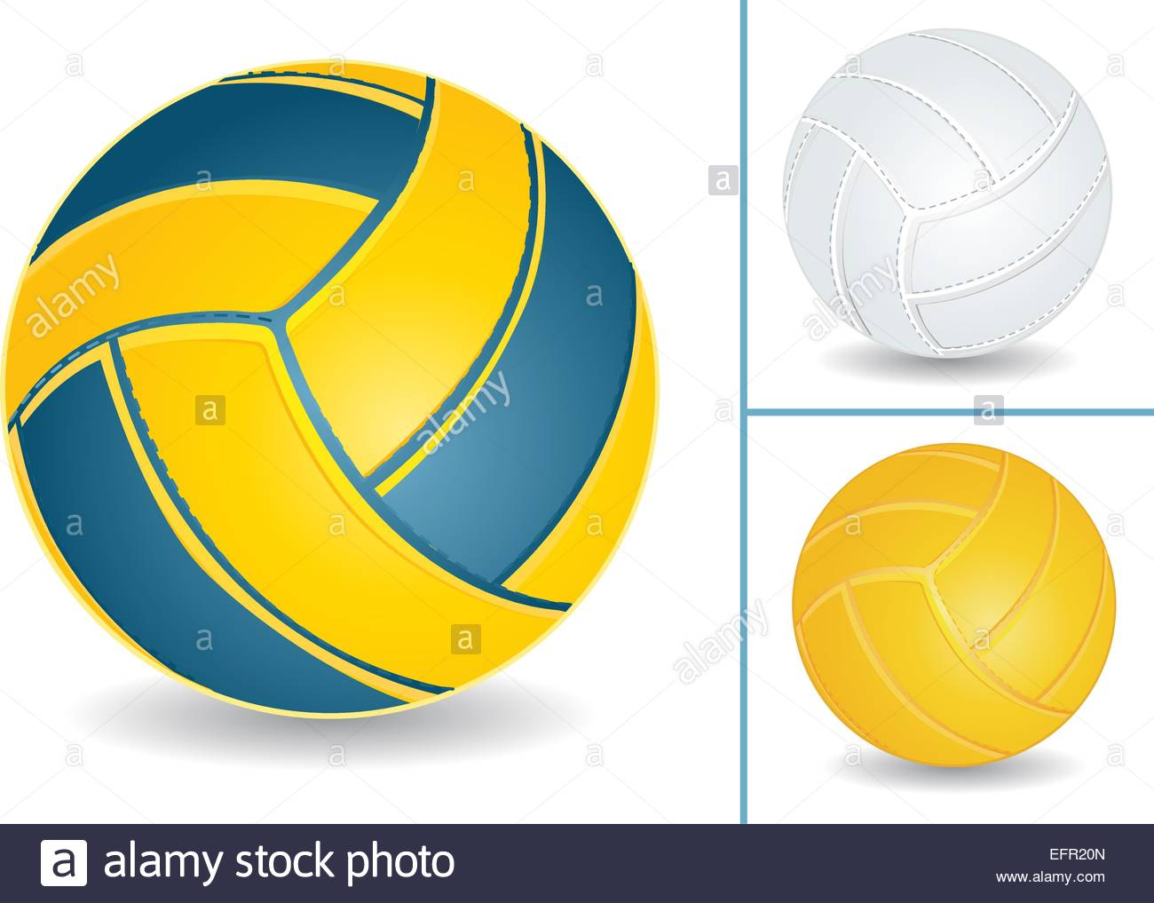 Volley ball isolated over white background vector illustration 1300x1017