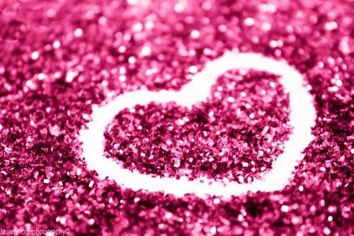 glitter heart pink sparkle Favimcom 517981 500x333