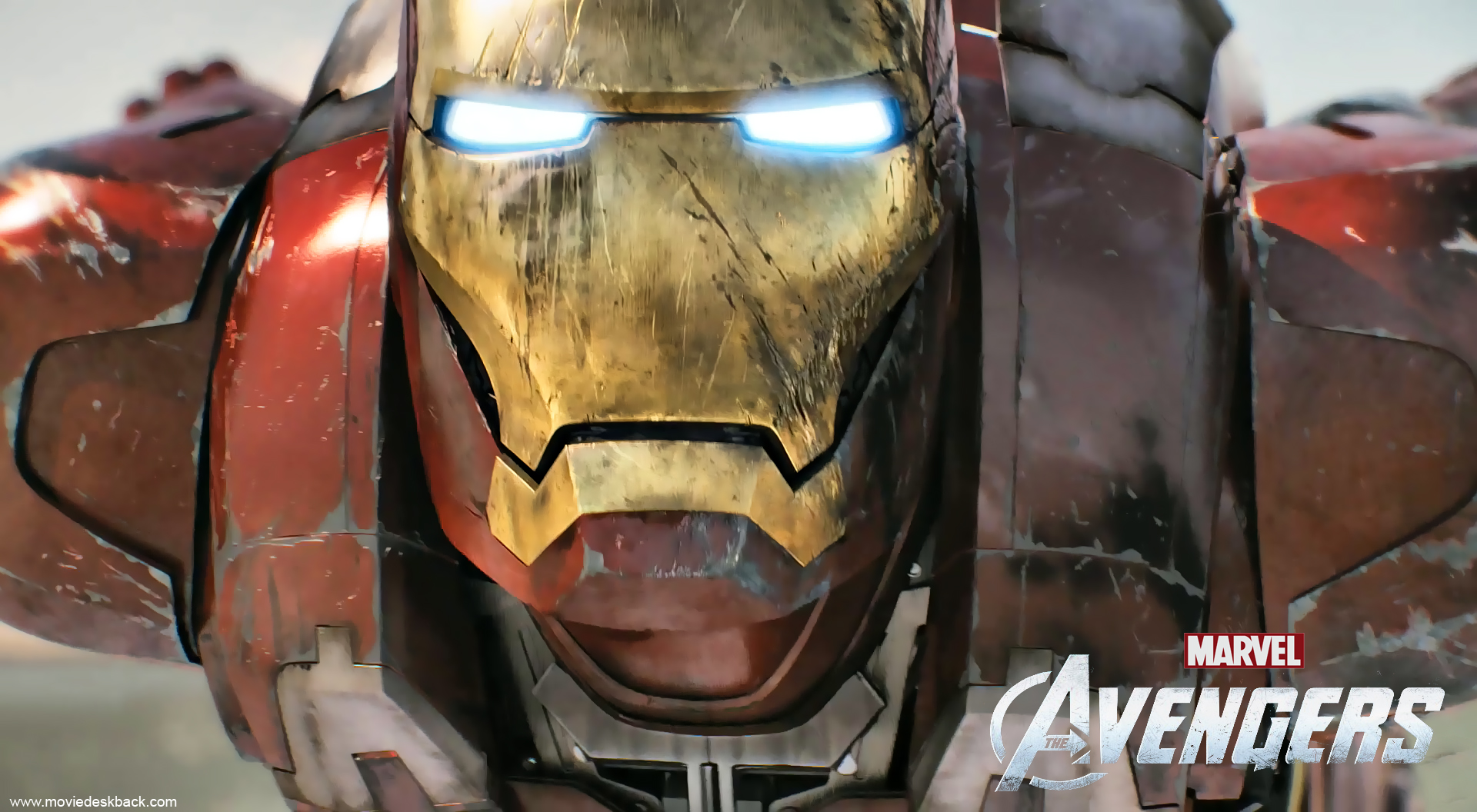 Iron Man in The Avengers 2012 1920x1056