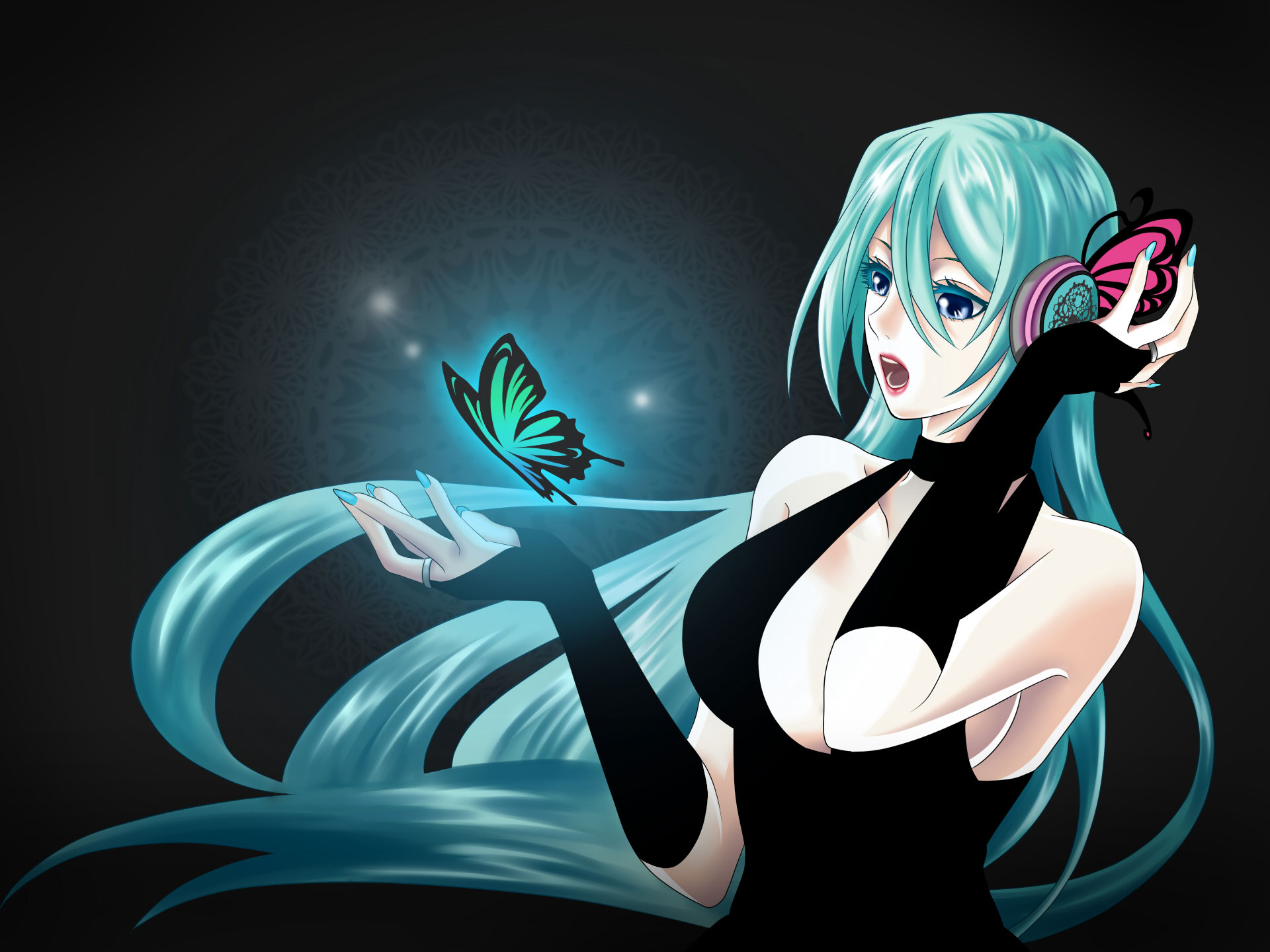 anime girl hd wallpaper 1080p wallpapersafari