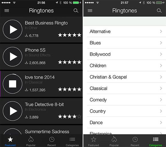 ZEDGE iOS 3 ZEDGE app wallpapers ringtones for iPhone iPad 580x513