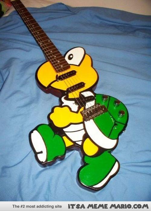 koopa troopa guitar