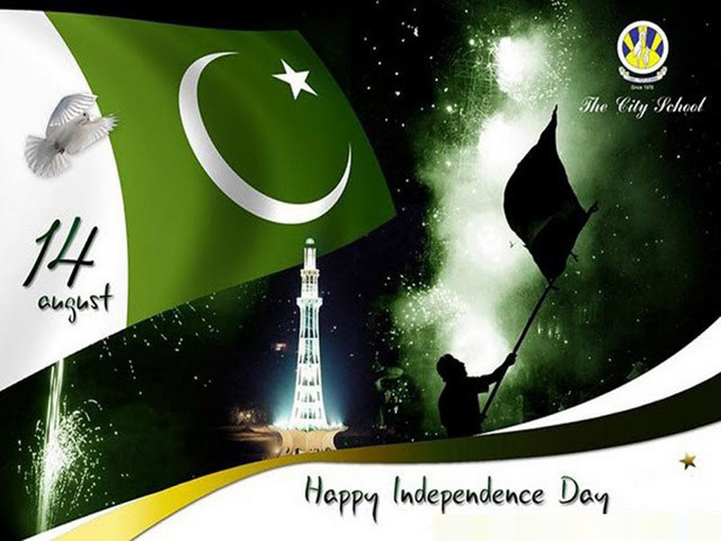 Happy Independence Day Pakistan HD Wallpapers Elsoar 1024x768