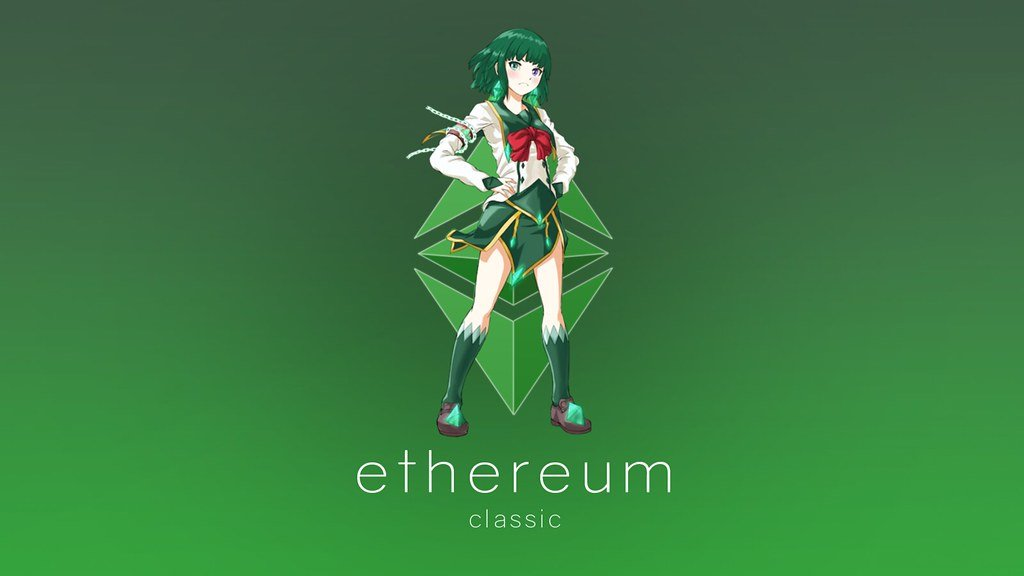 ETC Wallpaper   Ethereum Classic Manga Design with love A Flickr 1024x576