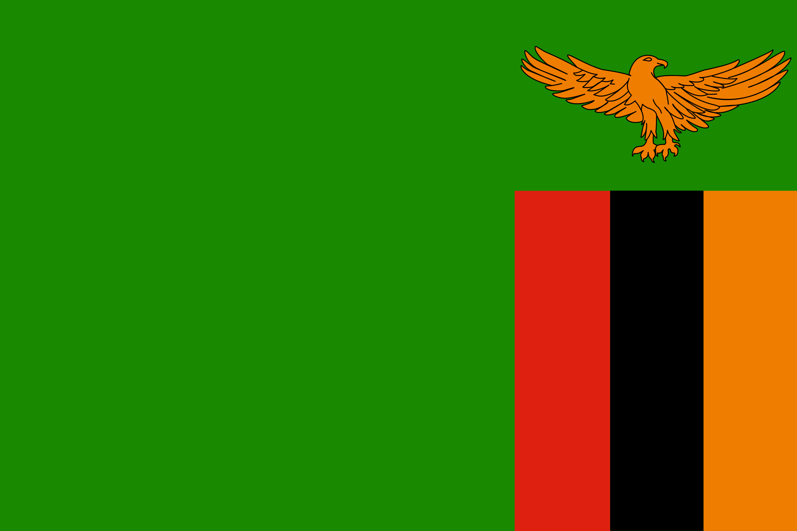 zambia flag Zambia Flags of countries Flags Of The World 2560x1707