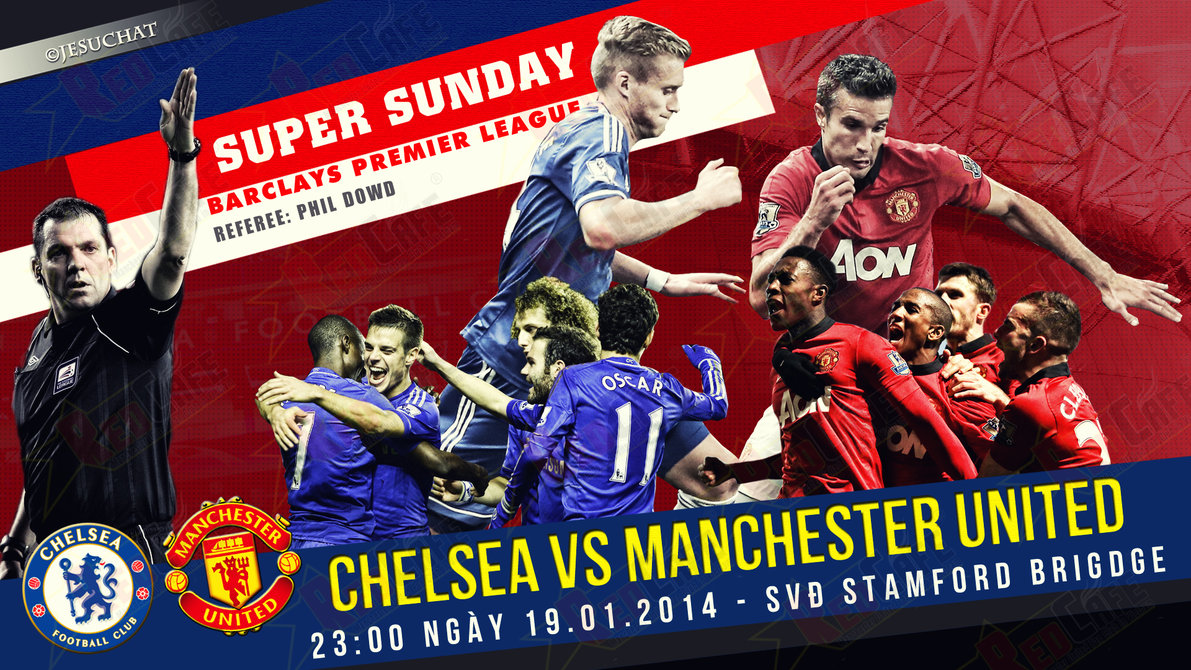 Chelsea v man u match today