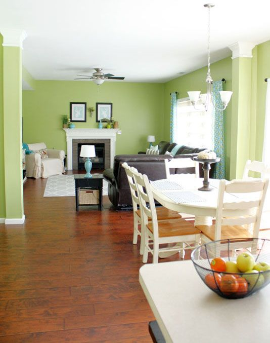 Paint color Grass Cloth by Behr newest kitchen color It is so 534x677