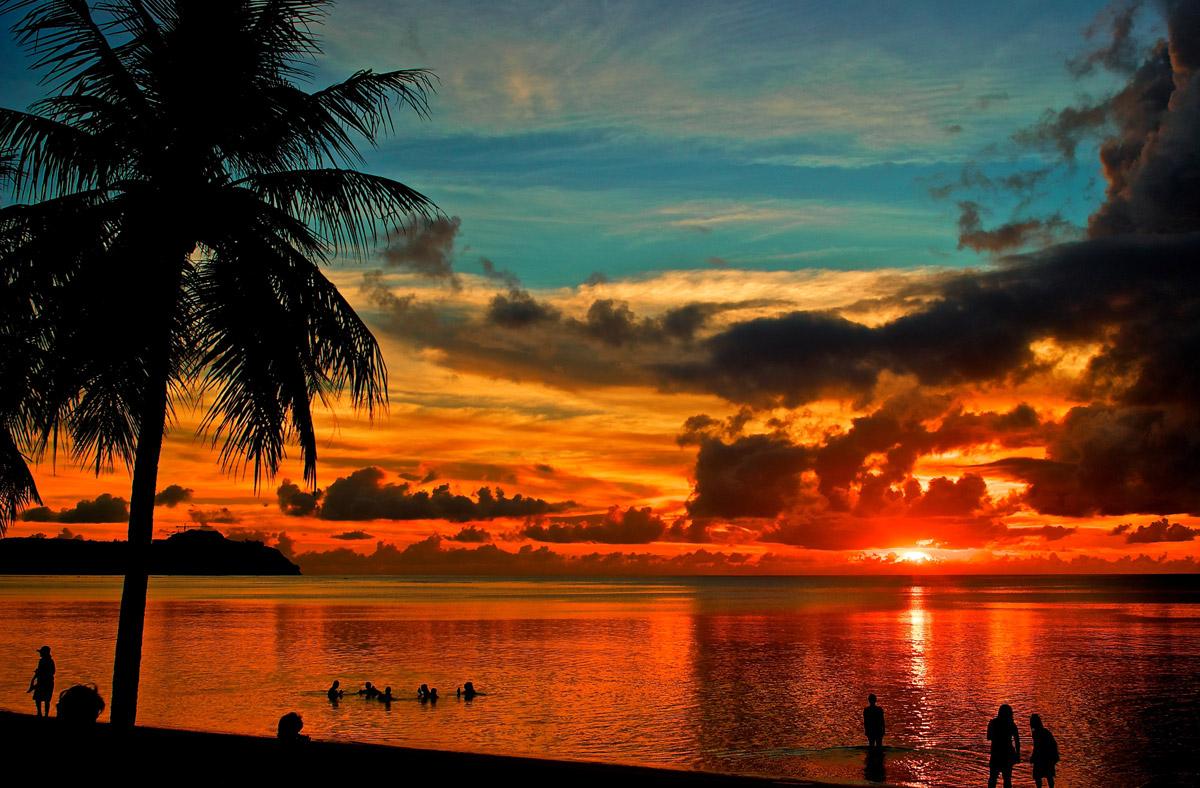 Scenic Beach Hd Photo Wallpaper: Guam Beaches Desktop Wallpaper
