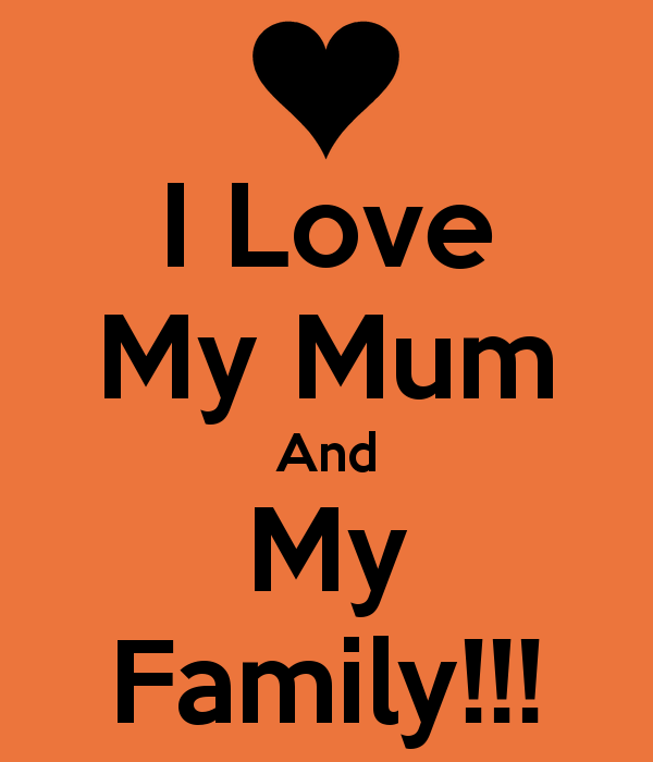 Wallpaper I Love My Family image gallery 600x700