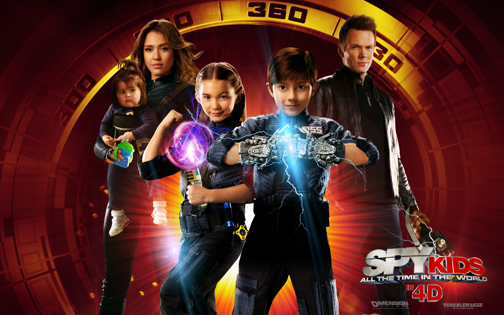 Home Wallpaper Spy Kids All the Time in the World Spy Kids All the 1680x1050