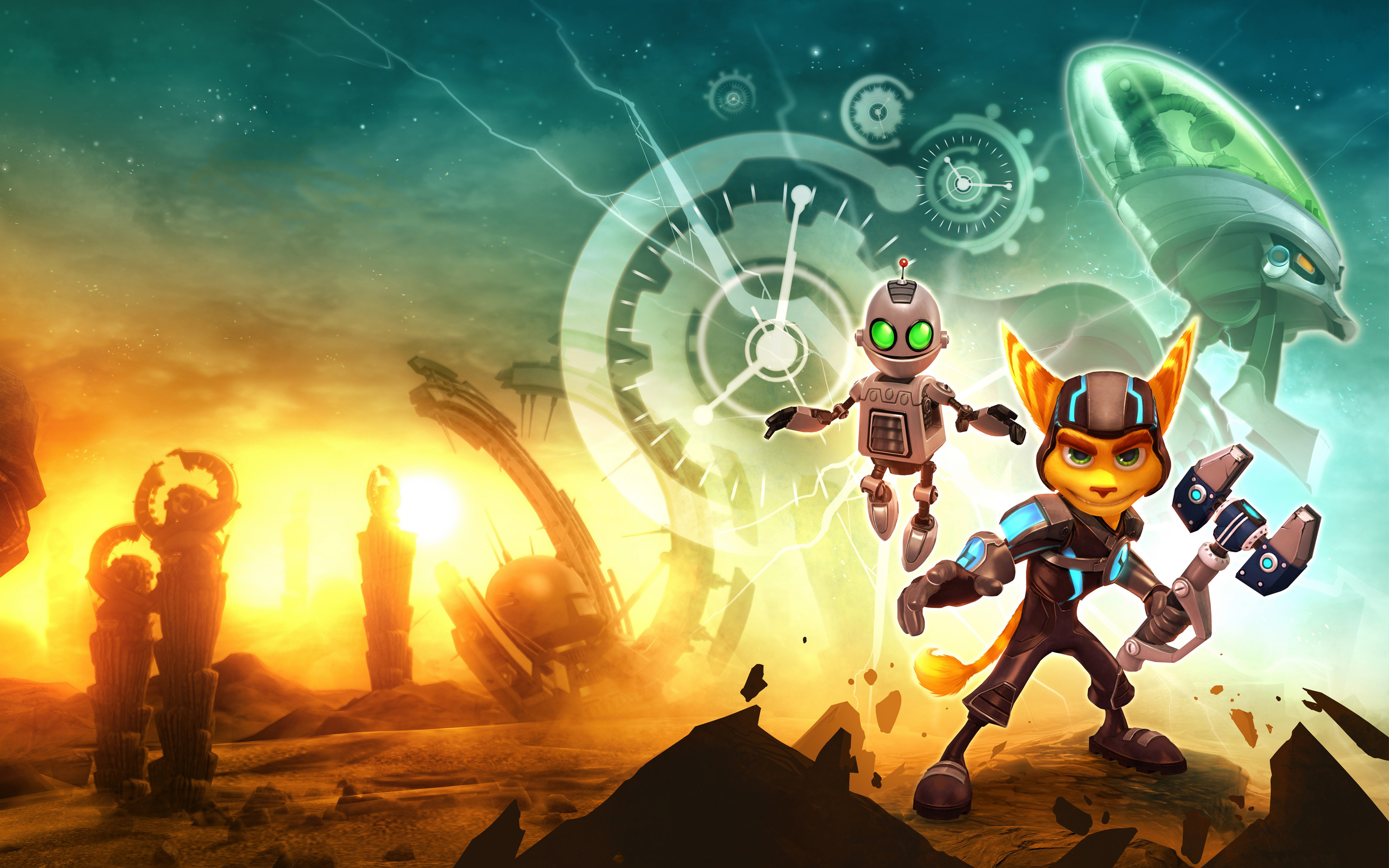 49 Ratchet And Clank Wallpaper Hd On Wallpapersafari