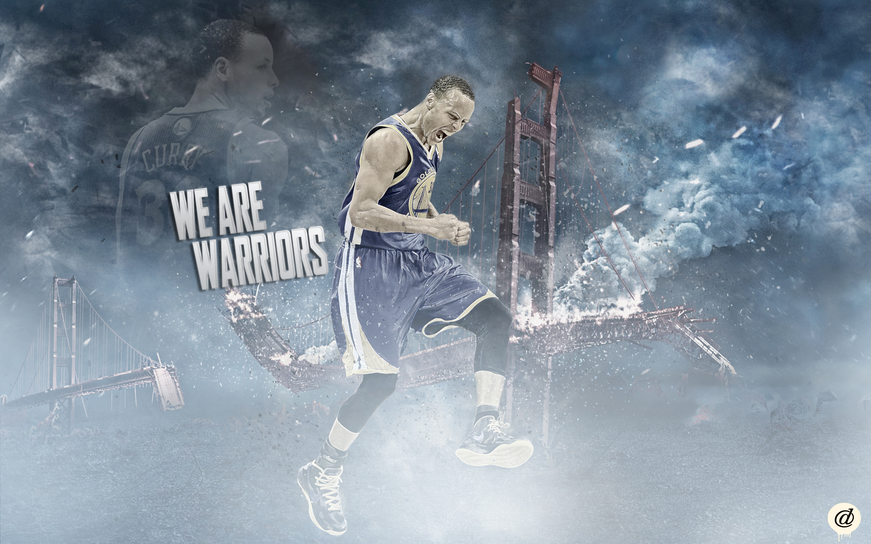 StephenCurryGoldenStateWarriors by 31ANDONLY 2880x1800