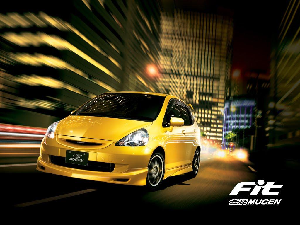 wallpaper honda fit MUGEN Car modification   Review Car Picture Hot 1024x768