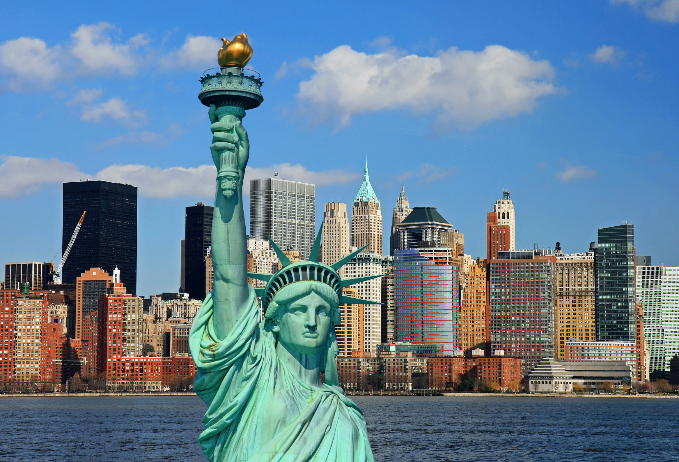 Statue of Liberty wallpapers Statue of Liberty background 2333x1586