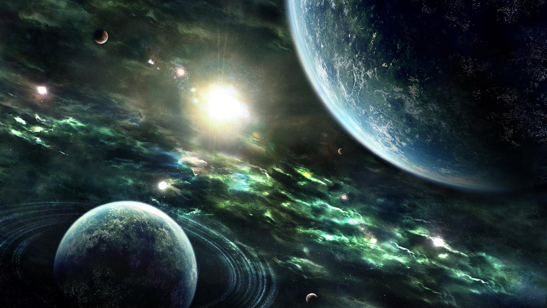 HD Space Wallpaper Widescreen - WallpaperSafari