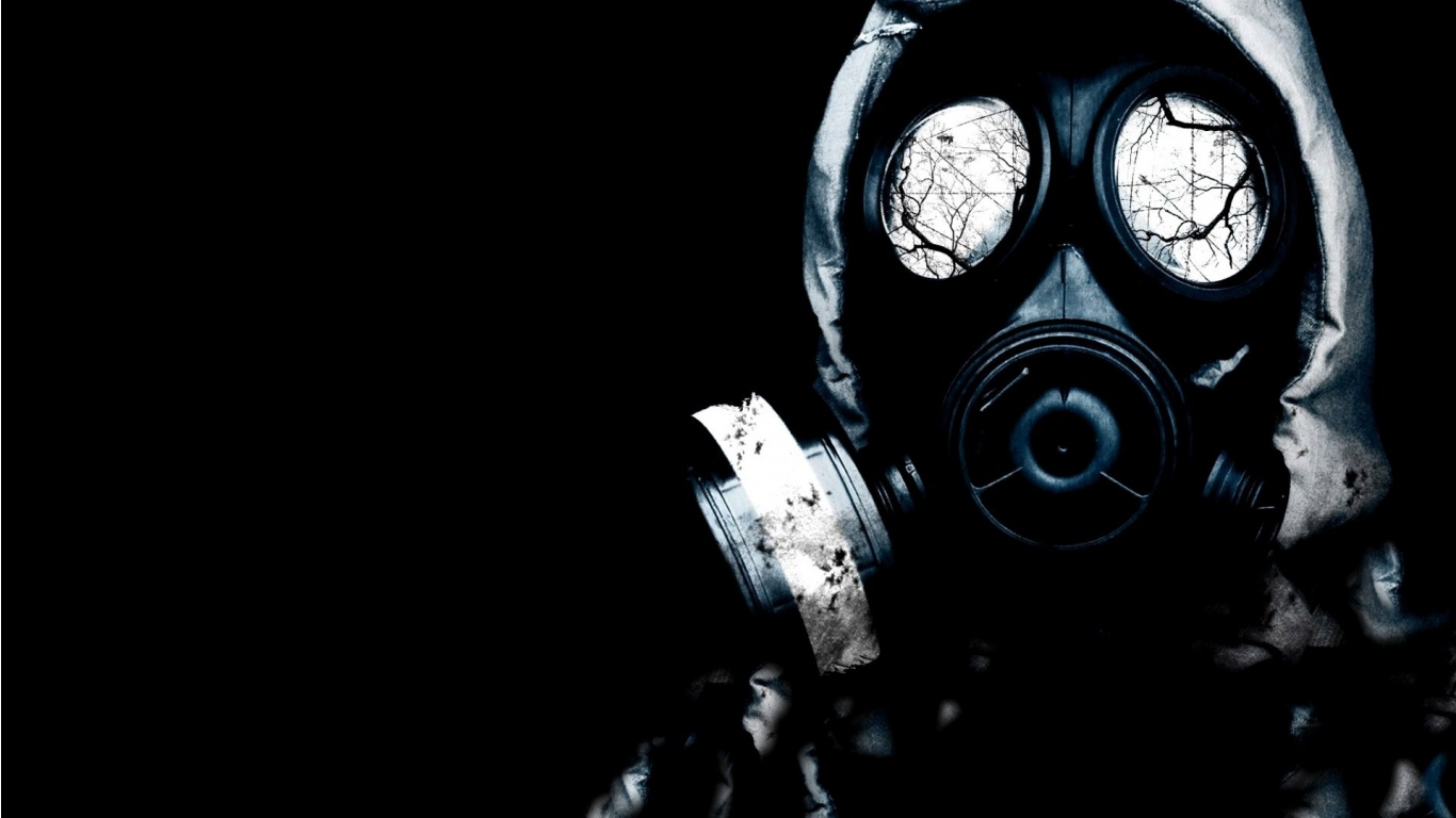 Soldier With Gas Mask HD Wallpapers Epic Desktop Backgrounds 1366x768