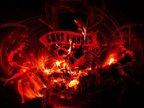 67 Guns N Roses Logo Wallpaper On Wallpapersafari