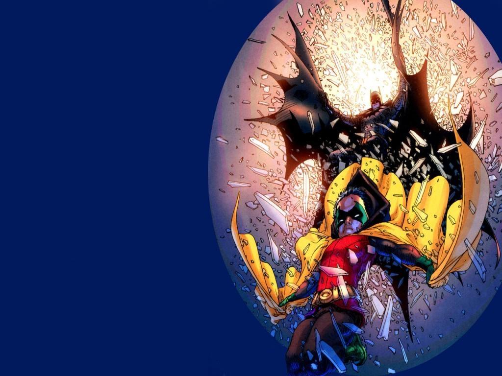 1024x768 Batman and Robin Wallpaper Download 1024x768