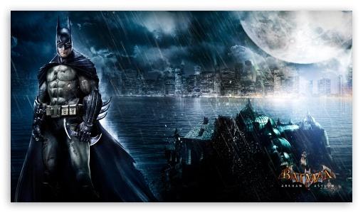 Batman Arkham Asylum HD desktop wallpaper High Definition 510x300