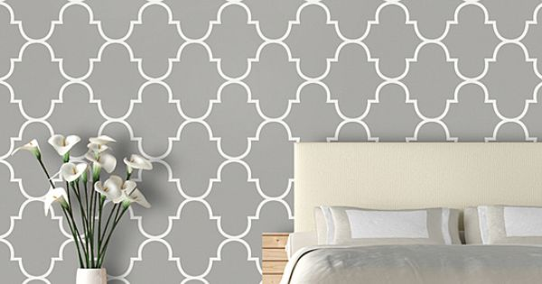 productclassic trellis luxury removeable wallpaper by swag paper Like 600x315