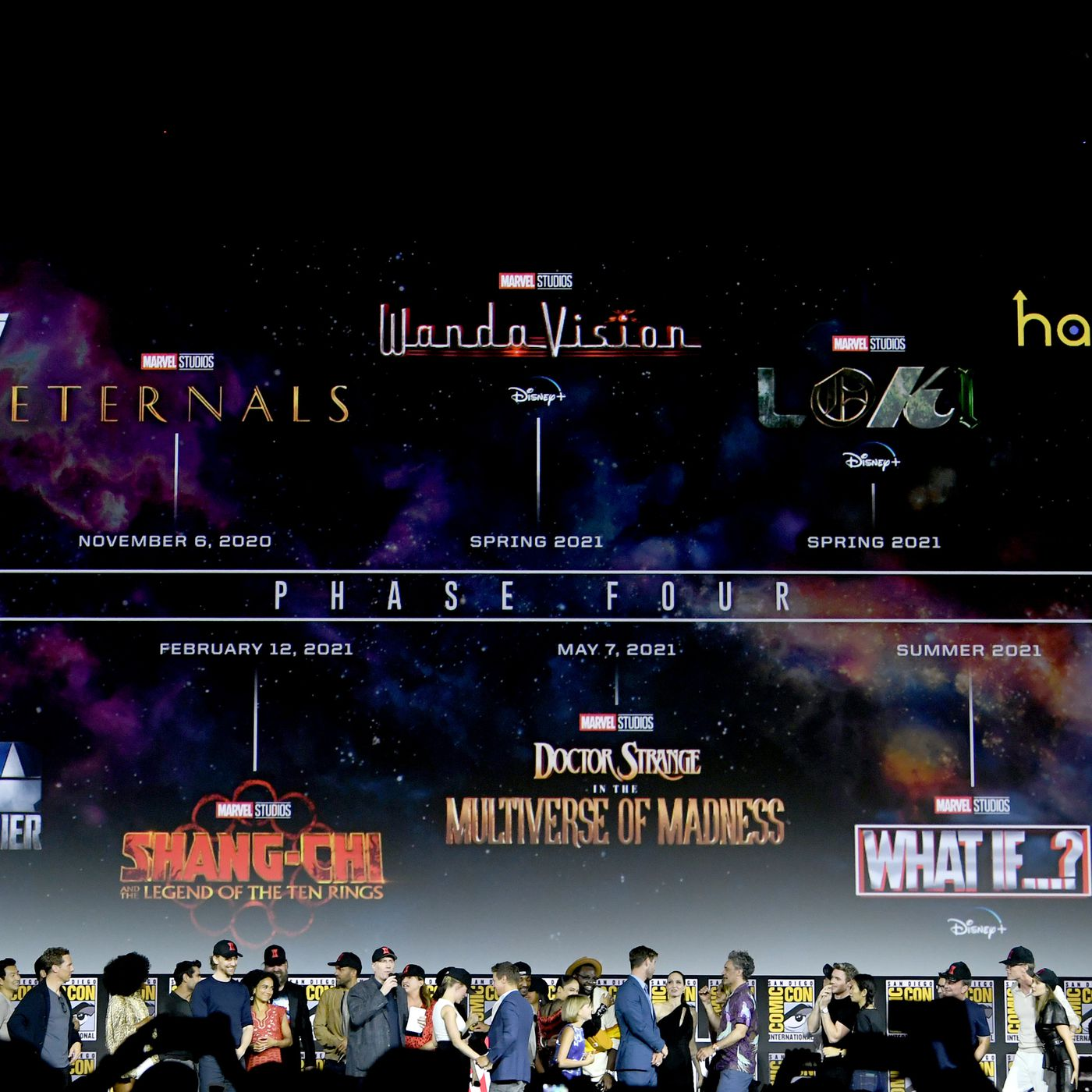 Marvel reveals massive Phase Four film and television plan   The Verge 1400x1400